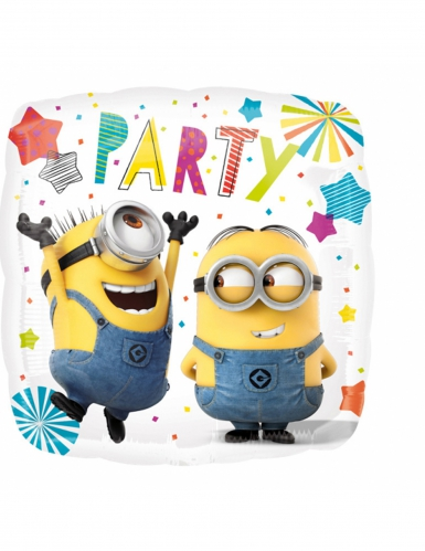 Ballon aluminium Minions ™ Party 43 cm