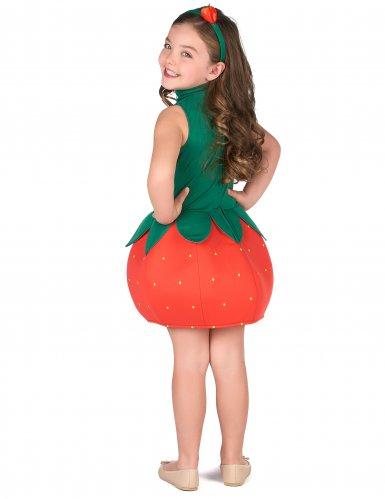 Déguisement robe fraise fille-2