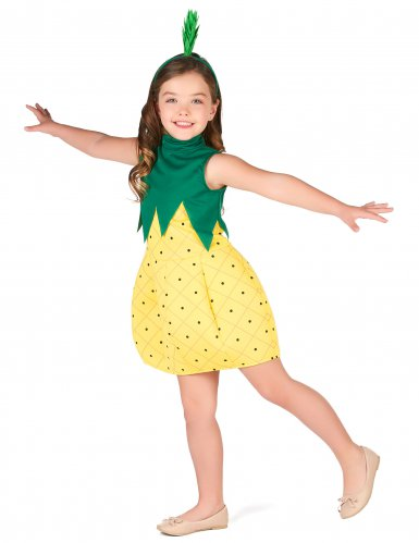 Déguisement robe ananas fille-1