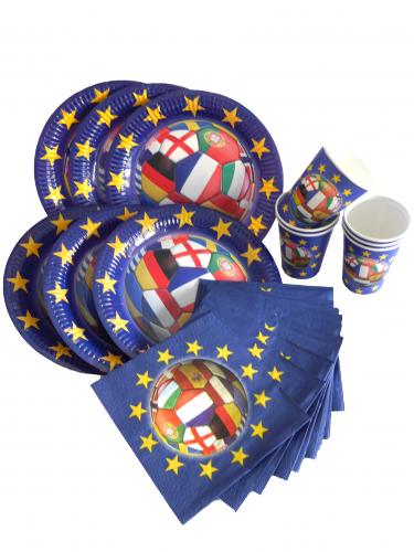Kit décoration football pays du monde 32 pièces