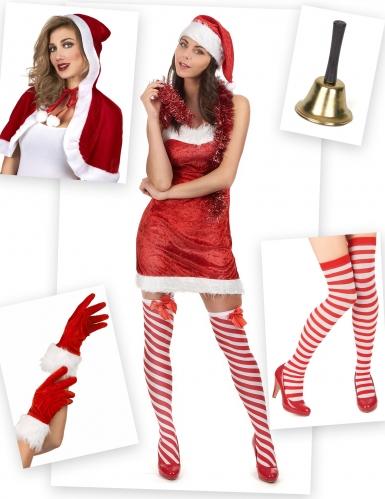 Pack déguisement mère Noël Classique