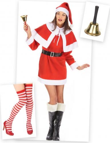 Pack déguisement mère Noël