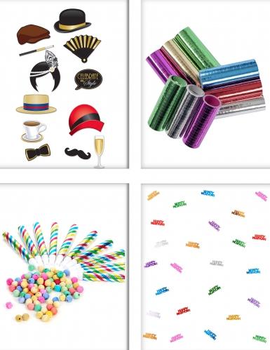 Pack animation de fête coloré