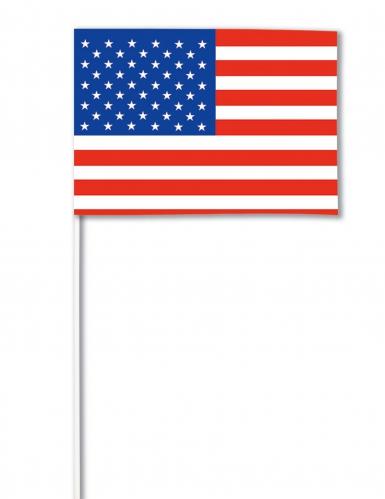 Drapeau papier USA 14 x 21 cm