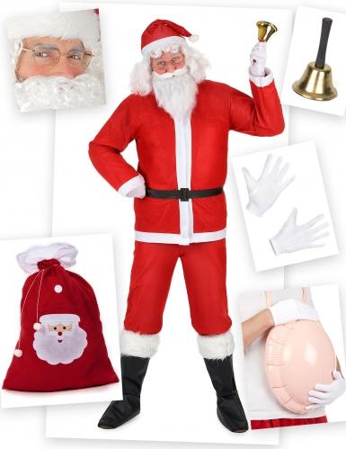 Pack déguisement Père Noël classique