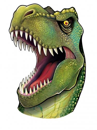 Découpe tête de dinosaure 86 cm