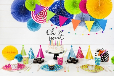 6 Bougies d'anniversaire flamme colorée 6 cm-2
