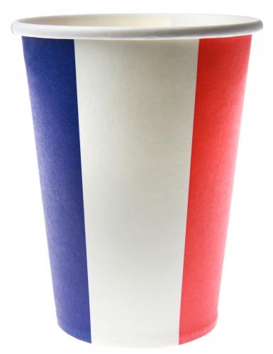 10 Gobelets en carton France 18 cl