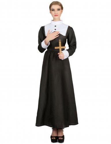 Déguisement nonne religieux femme