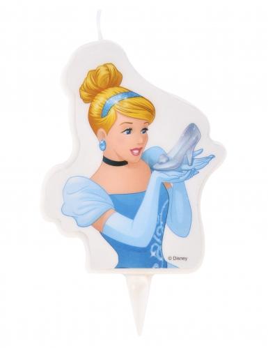 Bougie d'anniversaire Princesses Disney ™ Cendrillon 6 x 7,3 cm