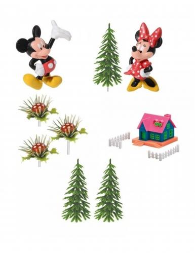 Kit de 9 pièces décoratives Mickey™ et Minnie 10 x 26 x 6 cm
