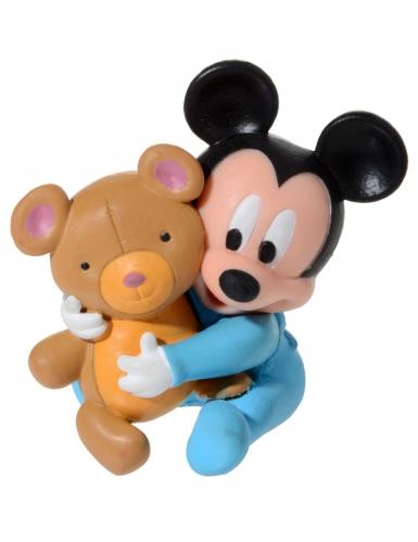4 Accessoires pour gâteau Bébé Mickey ™-1