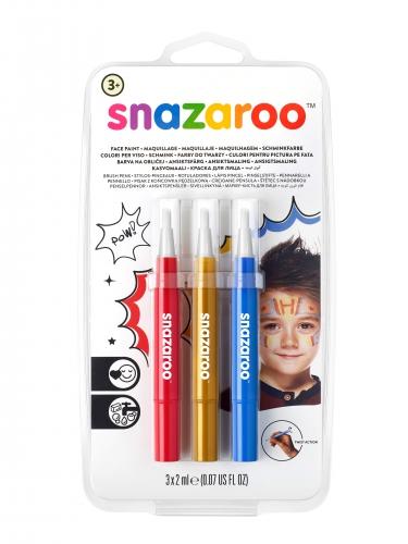 Set de stylos pinceaux clown enfant