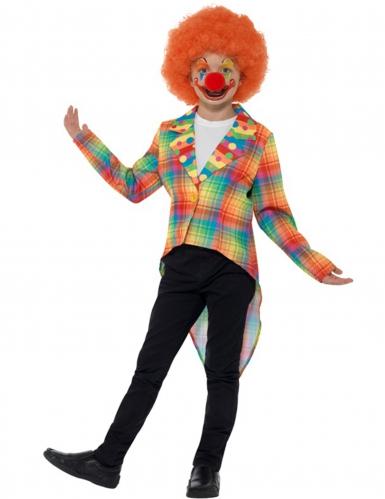Queue de pie clown enfant