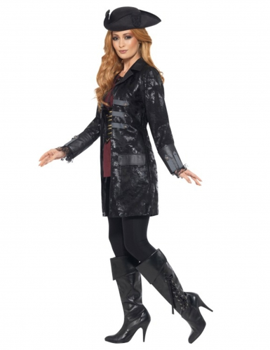 Manteau pirate luxe femme
