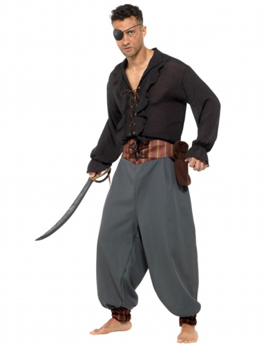 Pantalon mercenaire pirate adulte