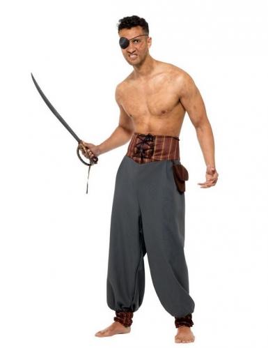 Pantalon mercenaire pirate adulte-1