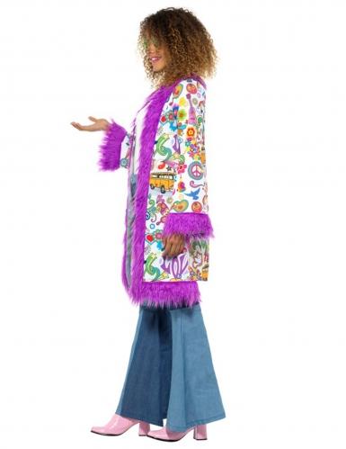 Manteau groovy années 60 femme-1