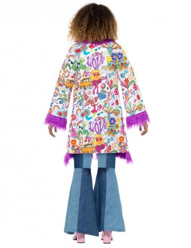 Manteau groovy années 60 femme-2