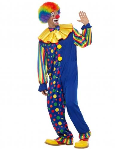 Déguisement clown de la nuit homme-2