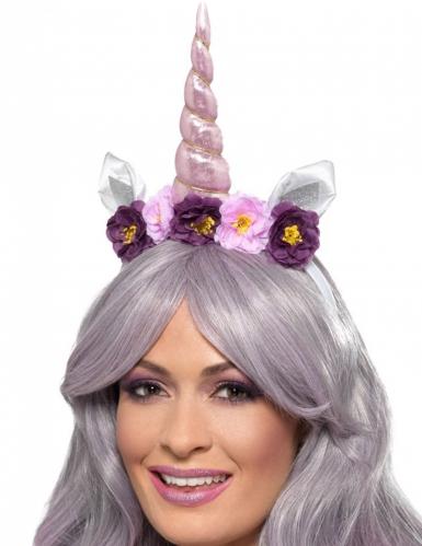 Serre-tête licorne violette adulte