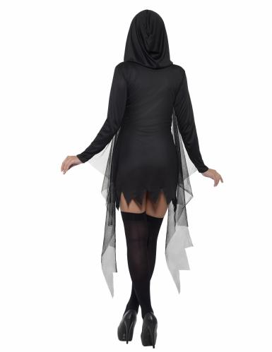 Déguisement faucheuse noire sexy femme-1