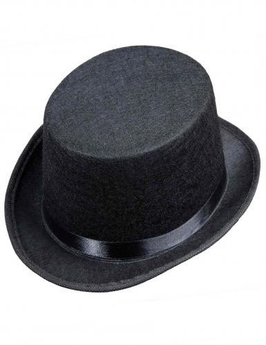 Chapeau haut de forme noir enfant-1