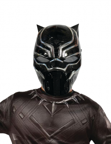 Demi-masque Black Panther™ enfant