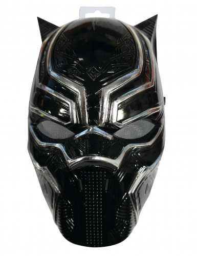 Demi-masque Black Panther™ enfant-1