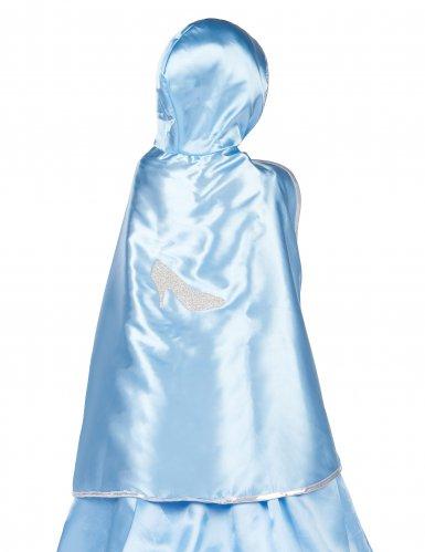 Cape réversible princesse bleue et rose fille-1
