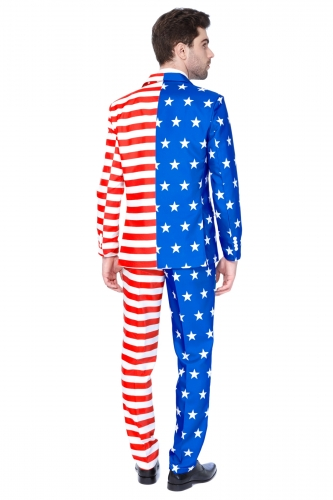 Costume Mr. USA Flag homme Suitmeister™-1