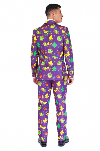 Costume Mr. Mardi Gras homme Suitmeister™-1