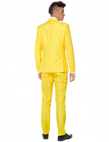 Costume Mr. Solid jaune homme Suitmeister™-1