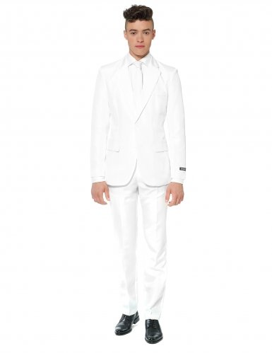Costume Mr. Solid blanc homme Suitmeister™