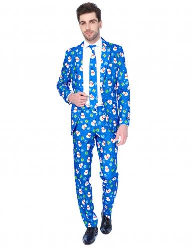 Costume Mr. Xmas Snowman homme Suitmeister™