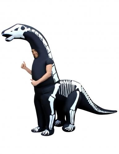 Déguisement gonflable squelette Dinosaure géant adulte Morphsuits™