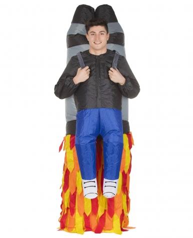 Déguisement homme porté par Jet Pack adulte Morphsuits™