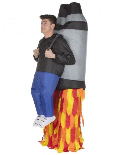 Déguisement homme porté par Jet Pack adulte Morphsuits™-1