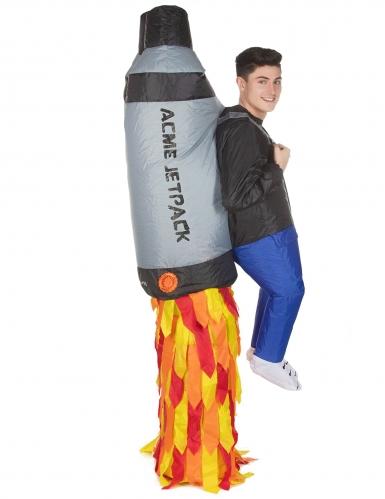 Déguisement homme porté par Jet Pack adulte Morphsuits™-3