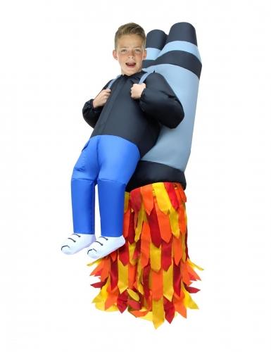 Déguisement gonflable enfant porté par Jet Pack Morphsuits™