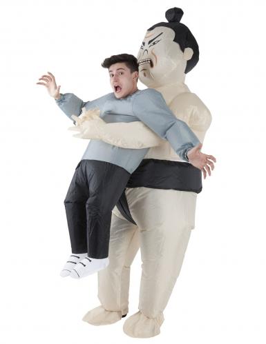 Déguisement homme porté par Sumo adulte Morphsuits™