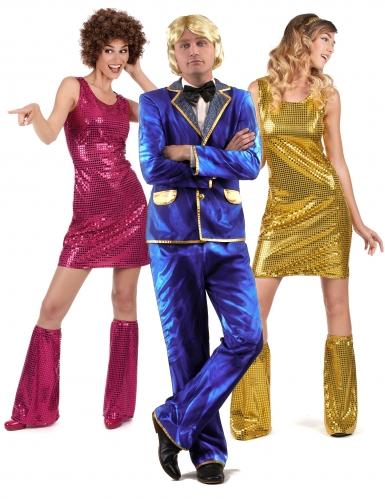 Déguisement de groupe chanteur Disco et ses danseuses