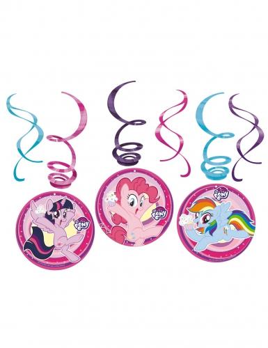 6 Suspensions en spirales My Little Pony™