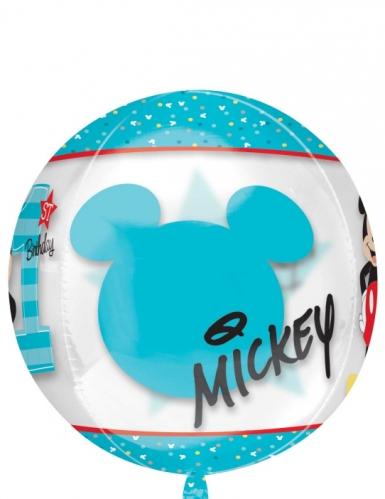 Ballon rond aluminium Mickey™ 38 x 40 cm-2