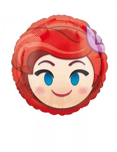 Petit ballon aluminium Ariel Emoji™ 23 cm