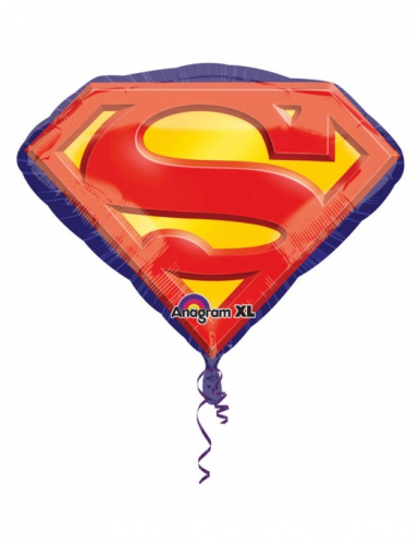 Ballon aluminium Superman™ 66 X 50 cm