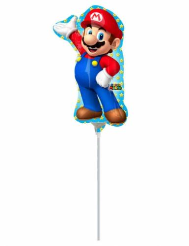 Petit Ballon aluminium Super Mario™ 20 X 30 cm