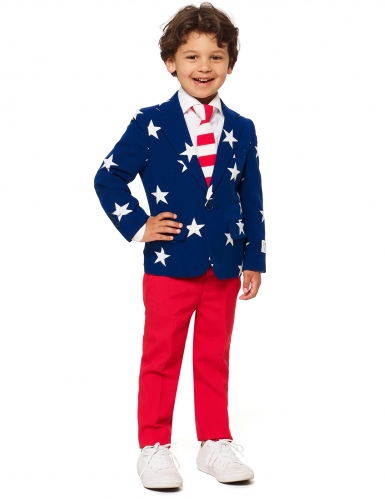 Costume Mr. USA enfant Opposuits™