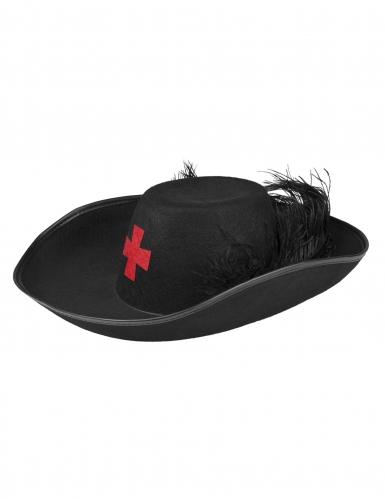 Chapeau chevalier mousquetaire adulte-1