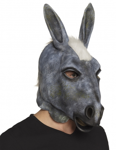 Masque latex âne adulte